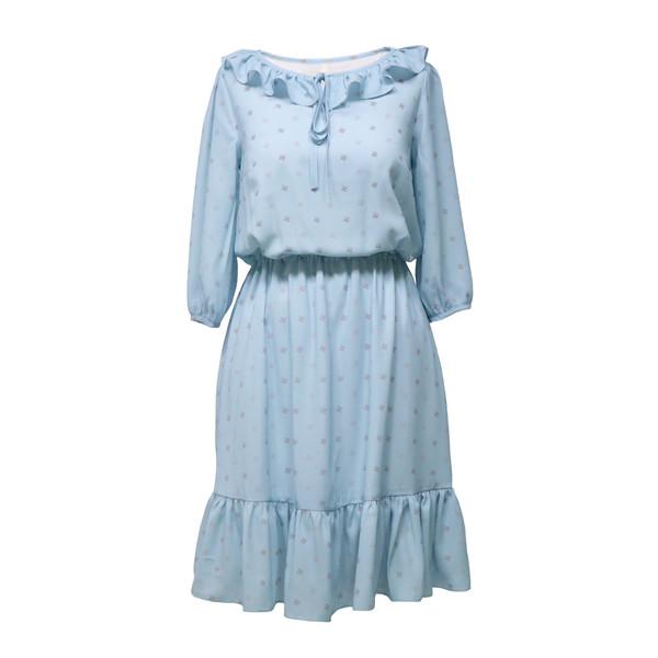 پیراهن زنانه دِرِس ایگو کد 1010034 رنگ آبی