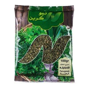 سبزی شنبلیله خشک نیوگرین-100گرم