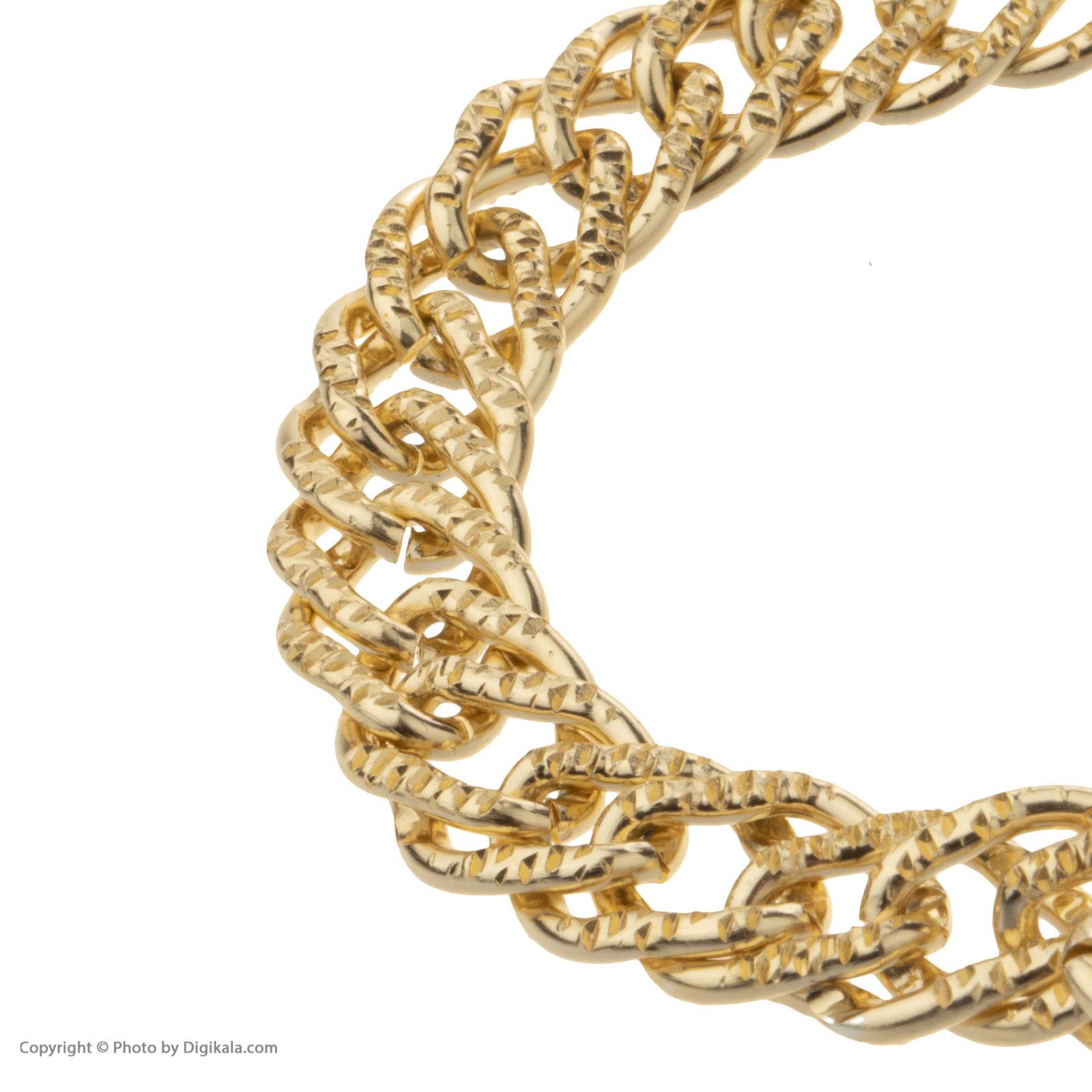 دستبند زنانه آیینه رنگی کد KR030 -  - 4