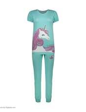 ست تی شرت و شلوار راحتی زنانه مادر مدل 2041104-54 -  - 2