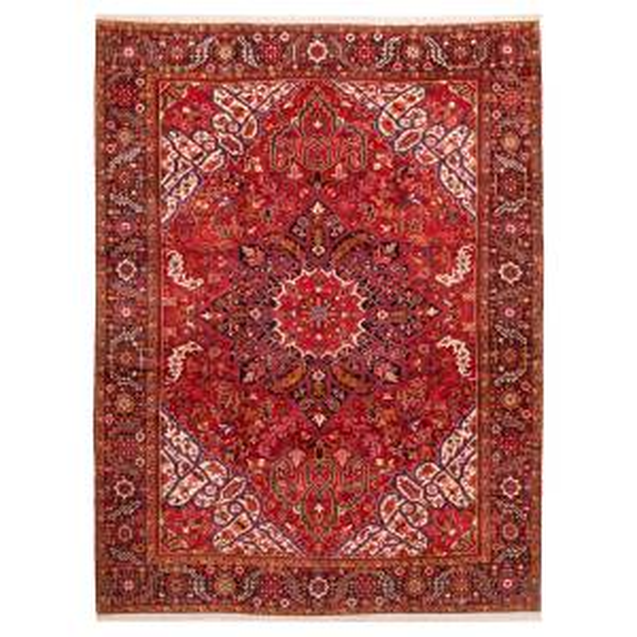 فرش قدیمی دستباف شانزده متری سی پرشیا کد 102406