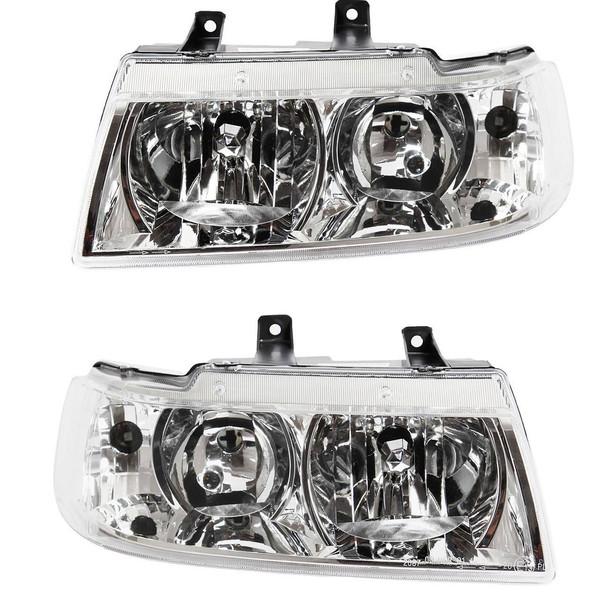 چراغ جلو خودرو مدل JT123 MP مناسب برای سمند LX بسته 2 عددی
