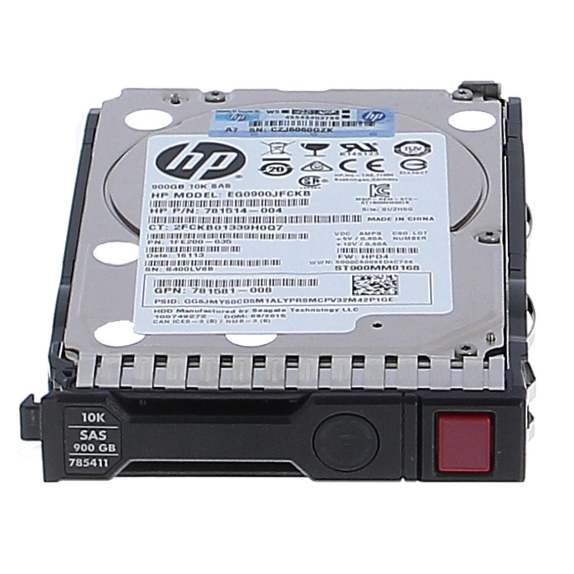 بررسی و {خرید با تخفیف}                                      هارد دیسک اینترنال اچ پی  مدل  Intreprise sas 10K 12G ظرفیت 900 گیگابایت                             اصل