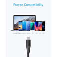 کابل تبدیل USB به USB-C انکر مدل PowerLine Plus II طول 0.9 متر thumb 3