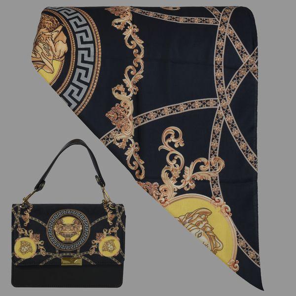 ست کیف و روسری زنانه کد T2-990711 غیر اصل