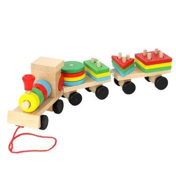 بازی آموزشی مونته سوری طرح قطار