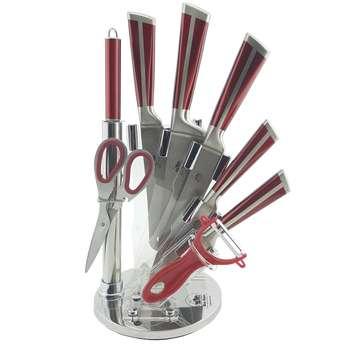 سرویس چاقو آشپزخانه 9 پارچه نیو هوم مدل NGL517