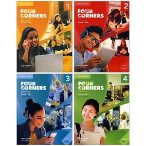 کتاب Four Corners اثر Jack C.Richard & David Bohlke انتشارات زبان مهر 4 جلدی
