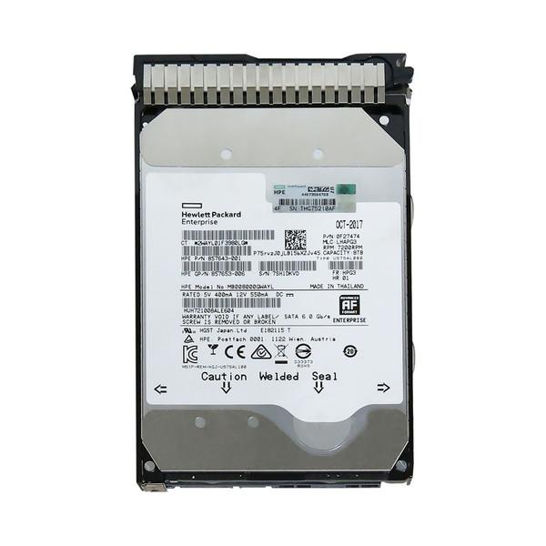 هارددیسک اینترنال اچ پی ای مدل MB008000GWAYL ظرفیت 8 ترابایت