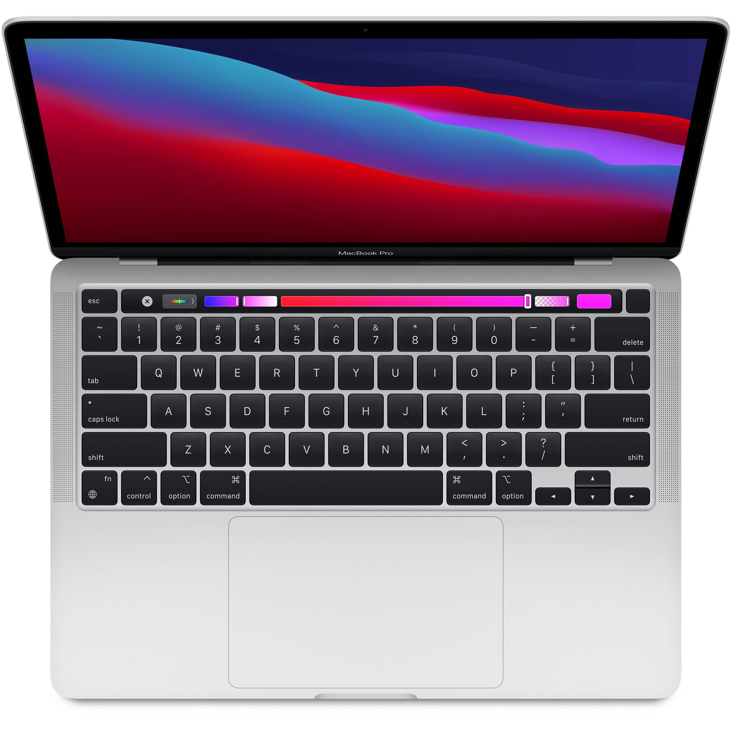 لپ تاپ 13 اینچی اپل مدل MacBook Pro MYDC2 2020 همراه با تاچ بار