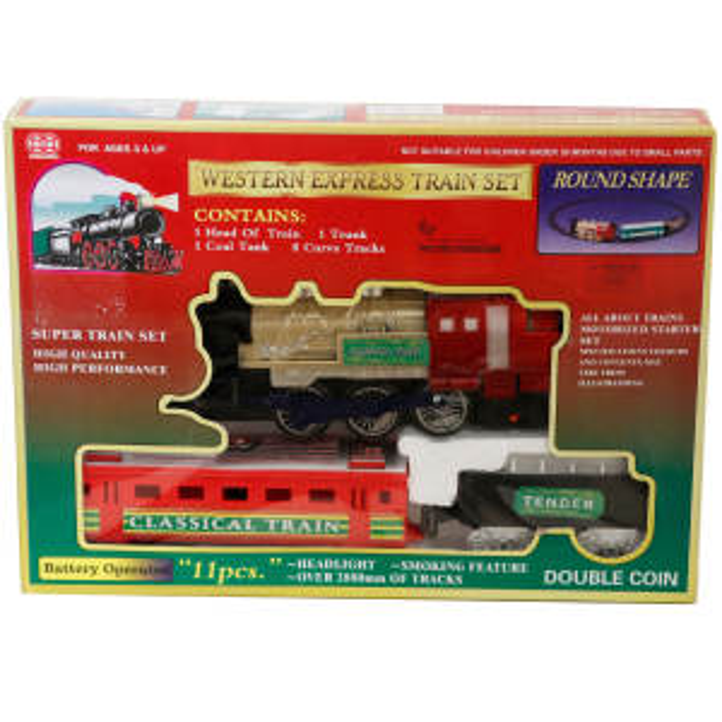 قطار بازی مدل وسترن
