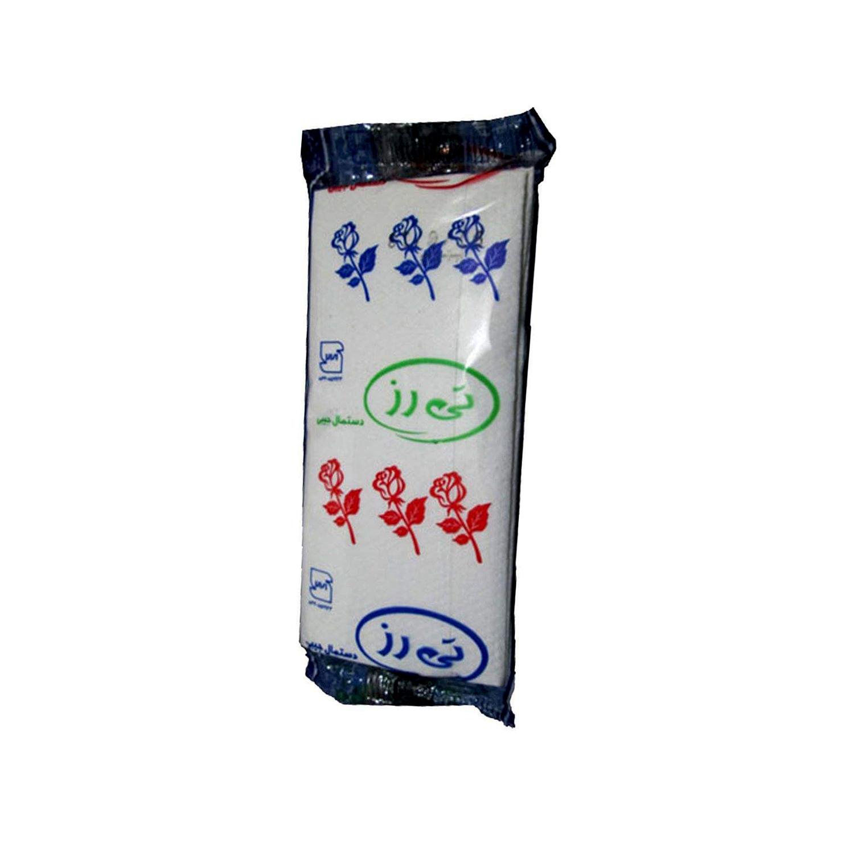 دستمال کاغذی جیبی تی رز مدل سپندگل