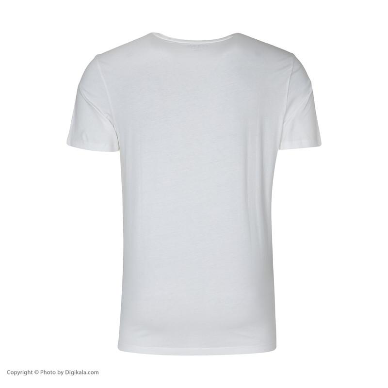 تیشرت آستین کوتاه مردانه کالینز مدل CL1033367-WHITE