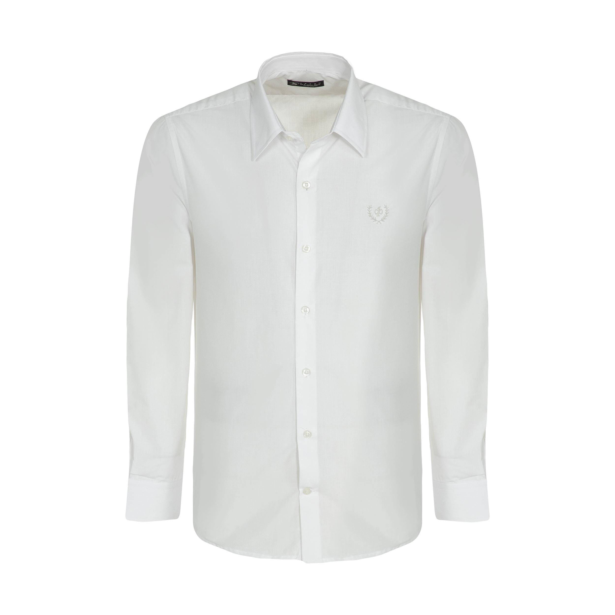 پیراهن آستین بلند مردانه پاتن جامه مدل 102721990297004