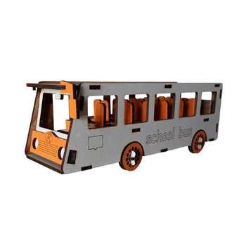 ماکت دکوری طرح اتوبوس مدرسه کد BUS