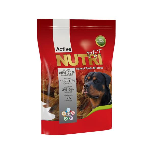 غذای تشویقی سگ نوتری پت مدل آئورت وزن 50 گرم