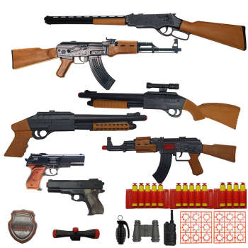 ست تفنگ بازی مدل Monster