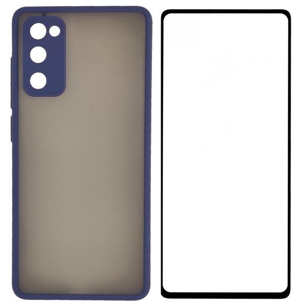 کاور مدل PHSPMG مناسب برای گوشی موبایل سامسونگ Galaxy S20 FE همراه با محافظ صفحه نمایش