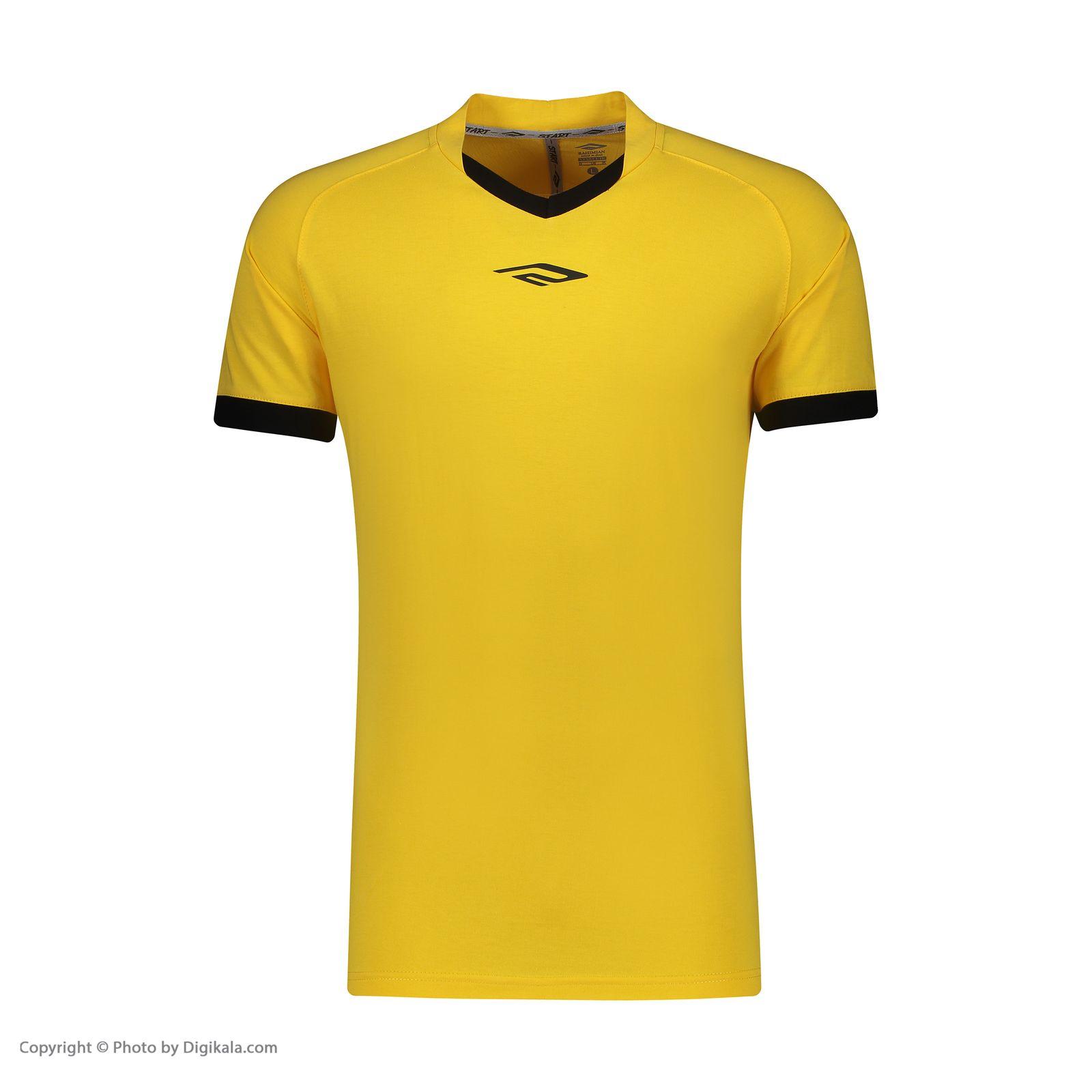 ست پیراهن و شورت ورزشی مردانه استارت مدل v1001-1 -  - 5