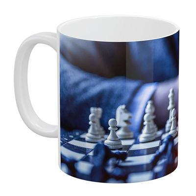 ماگ آبنبات رنگی طرح شطرنج کد VAR0285