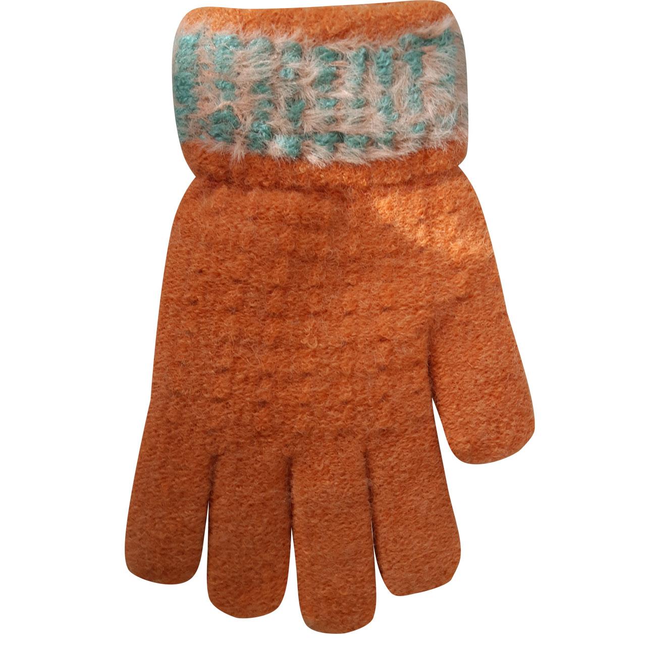 دستکش بافتنی بچگانه  کد 2696