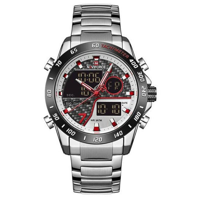 ساعت مچی دیجیتال مردانه نیوی فورس مدل NF9171M