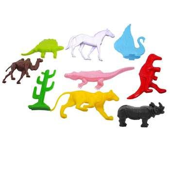 فیگور طرح حیوانات باغ وحش مجموعه 9 عددی