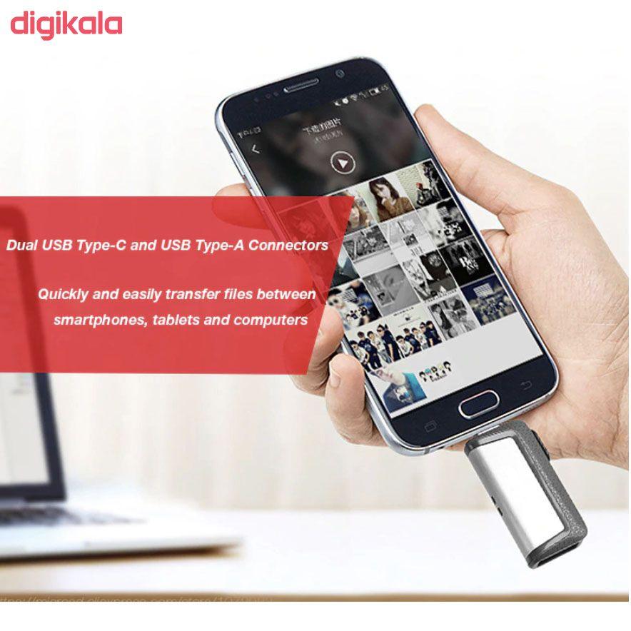 فلش مموری سن دیسک مدل Ultra Dual Drive USB Type-C ظرفیت 32 گیگابایت main 1 8