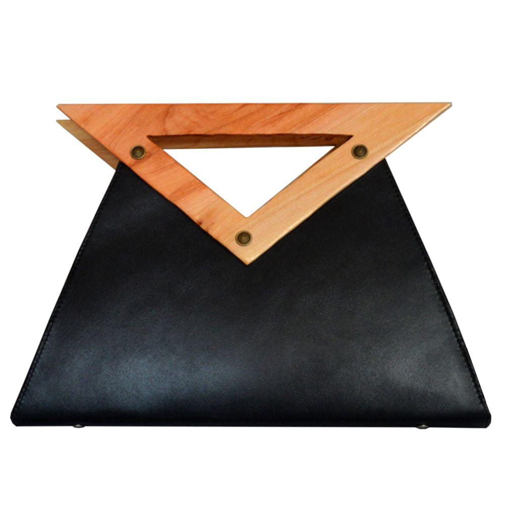 کیف زنانه دالاوین مدل دسته چوبی