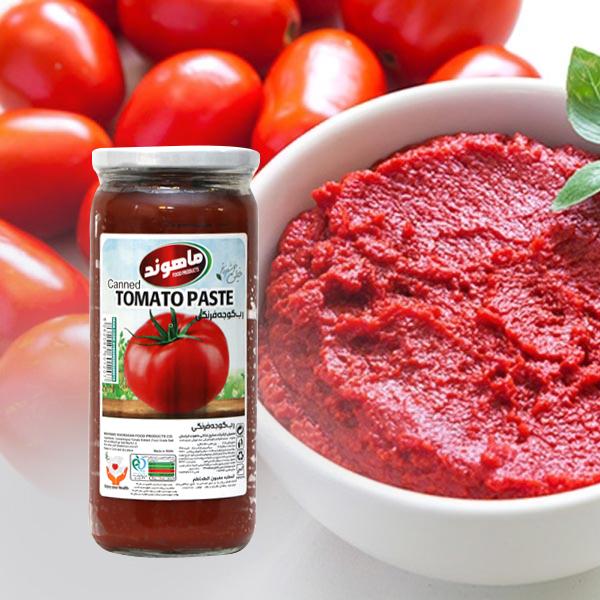 رب گوجه فرنگی ماهوند - 480 گرم