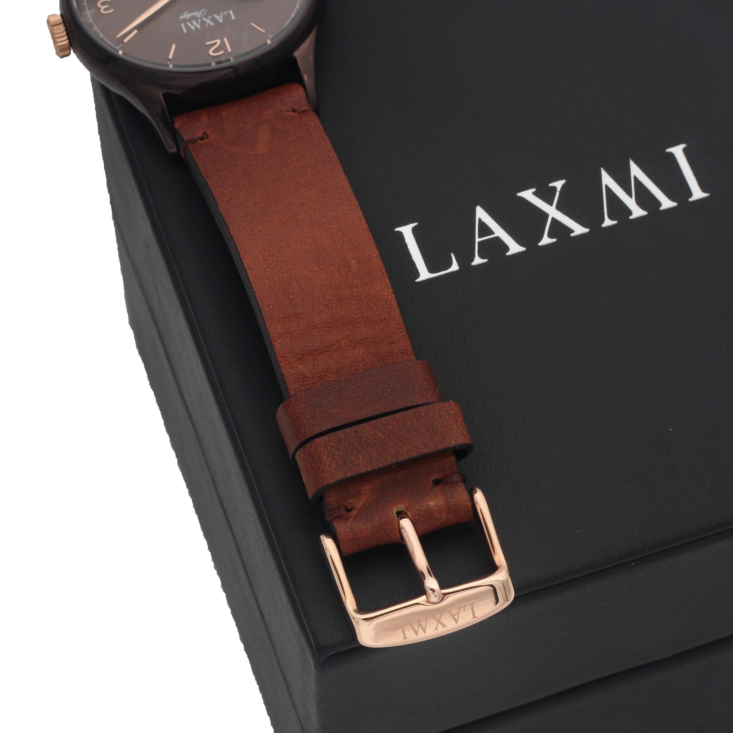 ساعت مچی عقربهای مردانه لاکسمی مدل LAXMI8050-2