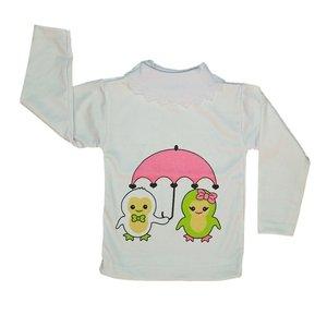 تی شرت آستین بلند نوزادی کد 10000