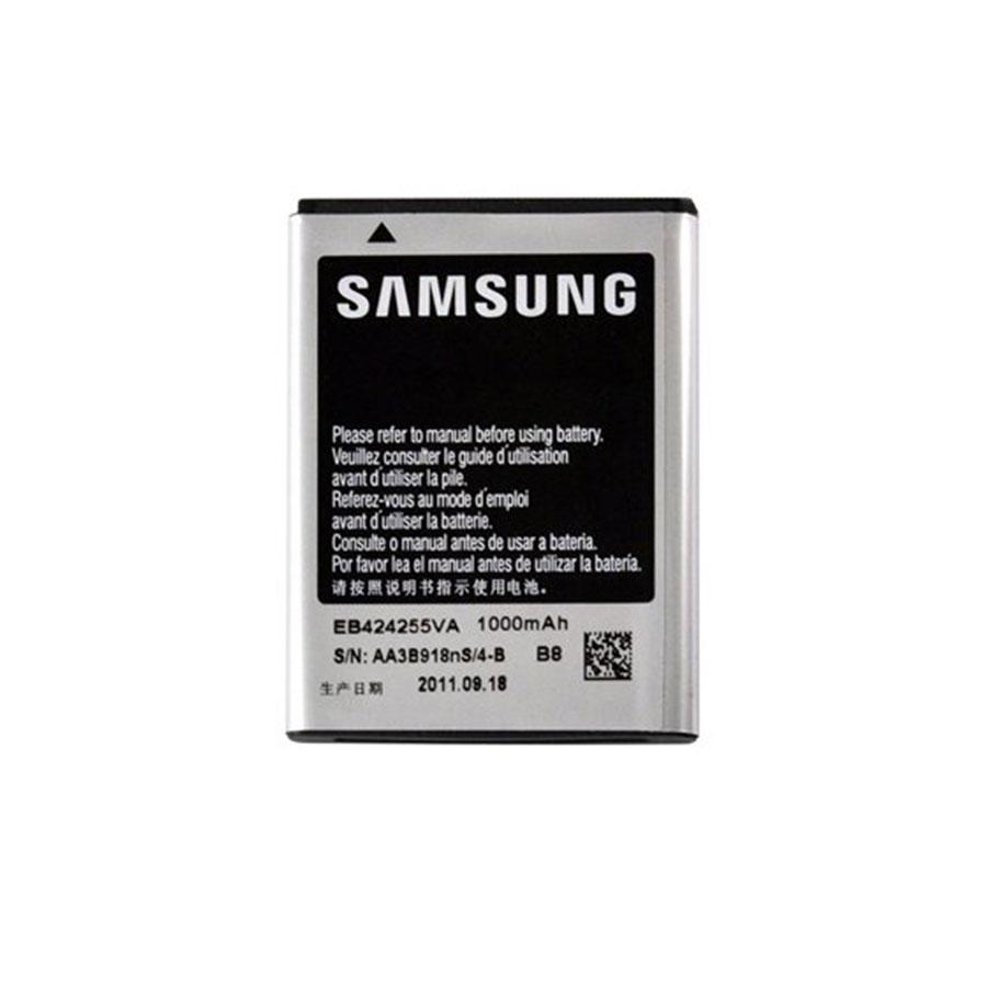 باتری موبایل مدل eb-424255va ظرفیت 1000 میلی آمپر ساعت مناسب برای گوشی موبایل سامسونگ s380c
