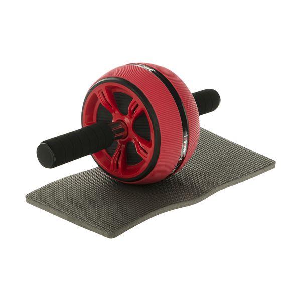 چرخ تمرین شکم مدل E78 به همراه زیرانداز ورزشی