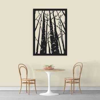 استیکر دیواری طرح درخت
