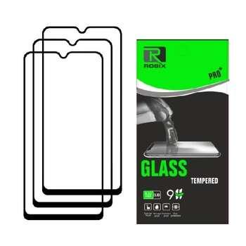 محافظ صفحه نمایش روبیکس مدل FLA31 مناسب برای گوشی موبایل سامسونگ Galaxy A31 بسته سه عددی
