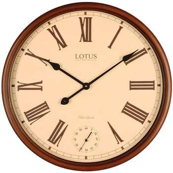 ساعت دیواری لوتوس کد BEVERLYHILLS-152-WAL