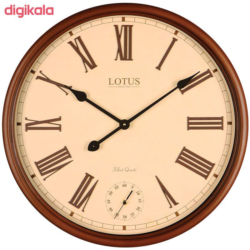 ساعت دیواری لوتوس کد BEVERLYHILLS-152-WAL main 1 1
