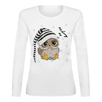 تی شرت آستین بلند زنانه مدل TAB01-41