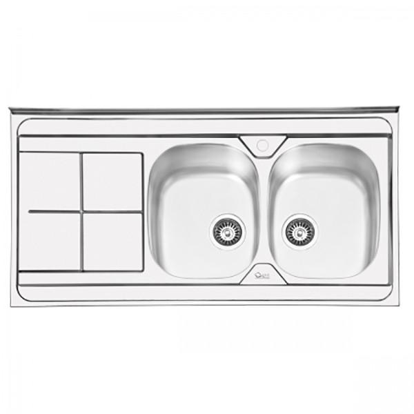 سینک ظرفشویی ایلیا استیل مدل 1041