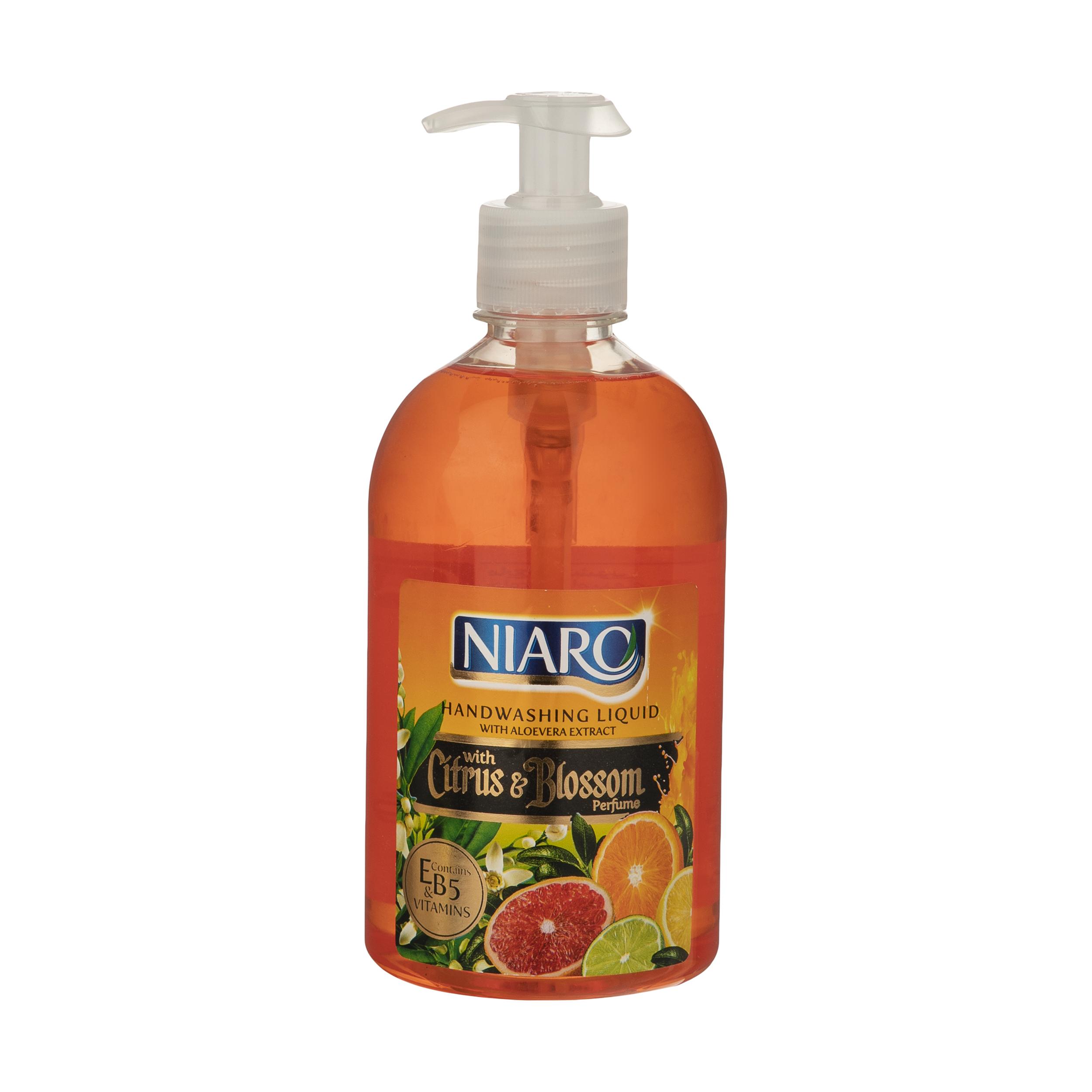 مایع دستشویی نیارو مدل بهار نارنج حجم 500 میلی لیتر