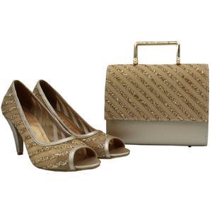 ست کیف و کفش زنانه لیانا کد 7005-TA