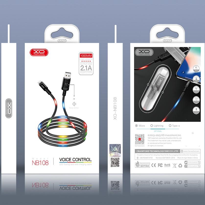 کابل تبدیل USB به USB-C  ایکس او  مدل NB108  طول 1 متر