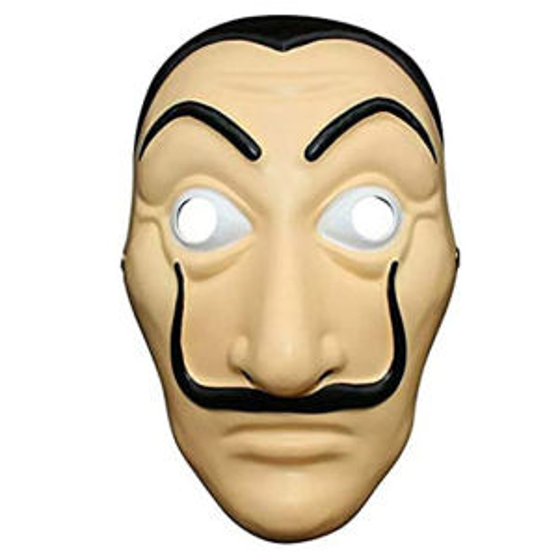 ماسک ایفای نقش مدل سالوادو دالی