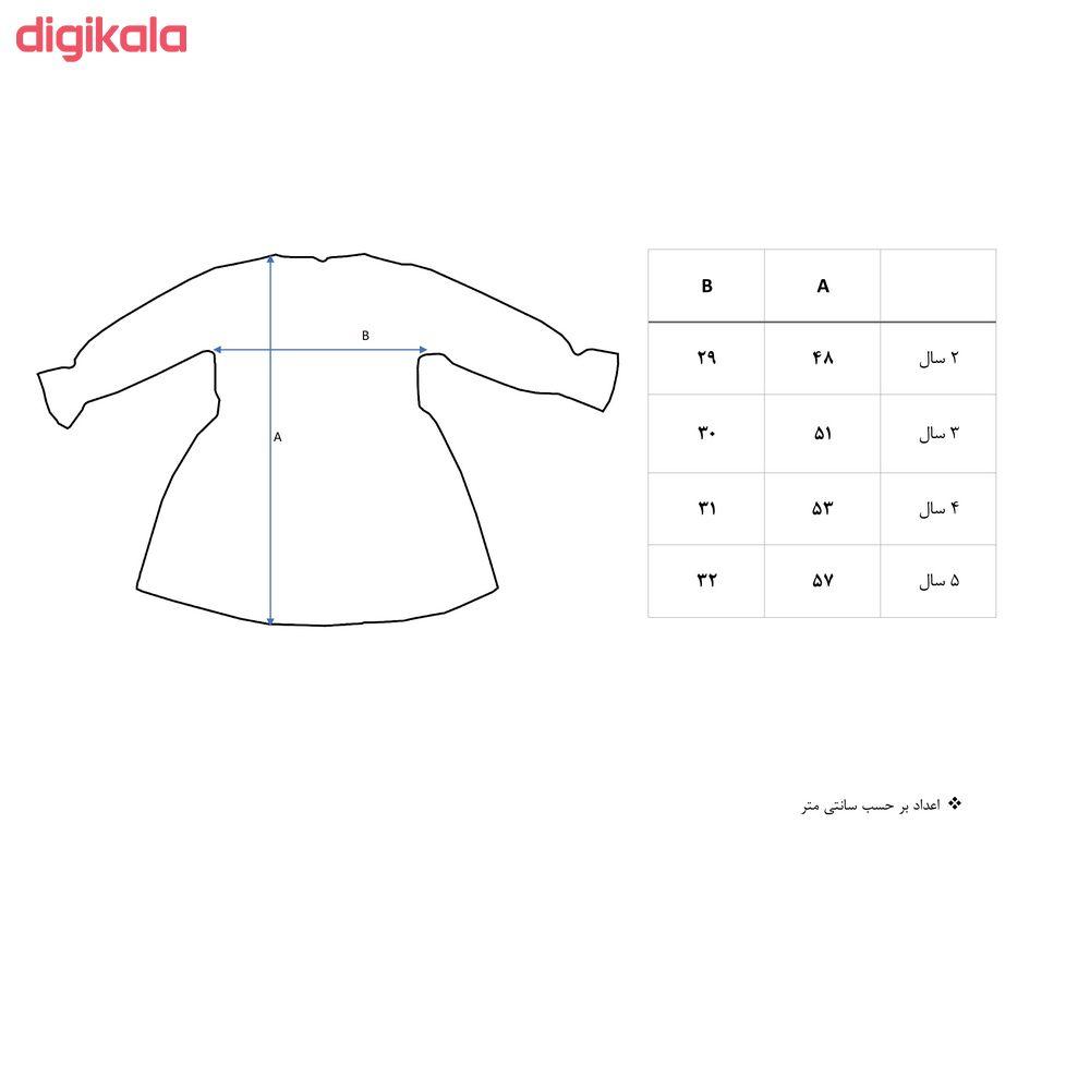پیراهن دخترانه نیروان مدل 101096 -1 main 1 1