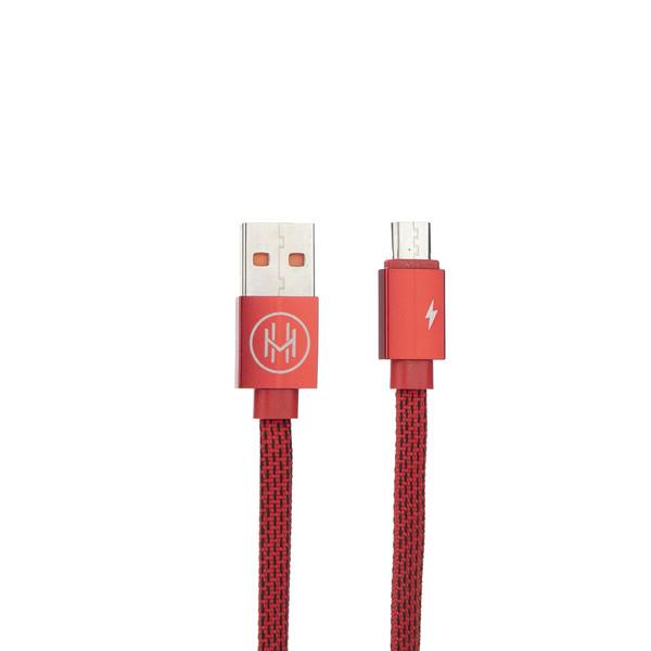 کابل تبدیل USB به microUSB اچ اند ام مدل DCCTM طول 1 متر