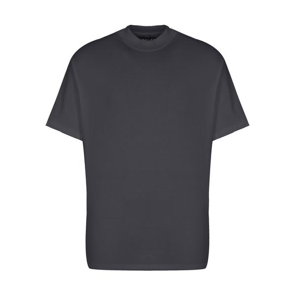 تیشرت آستین کوتاه مردانه گری مدل H23