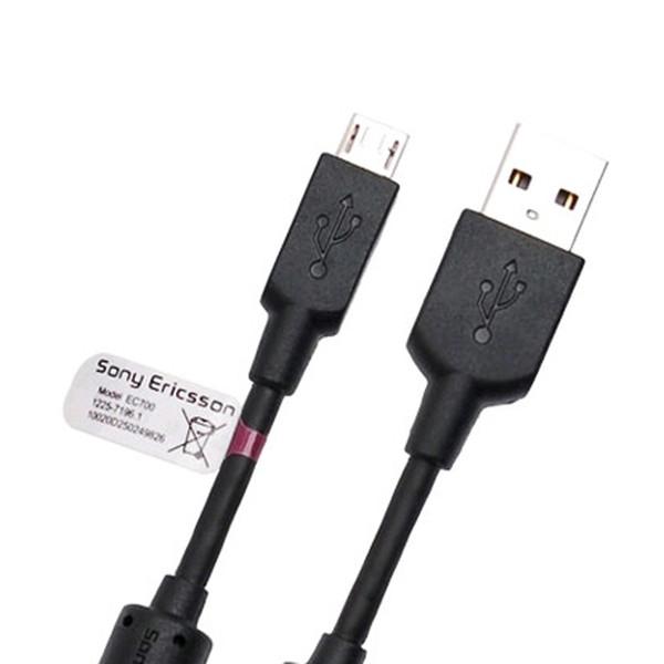کابل تبدیل USB به microUSB سونی اریکسون مدل EC700 طول 1.5 متر