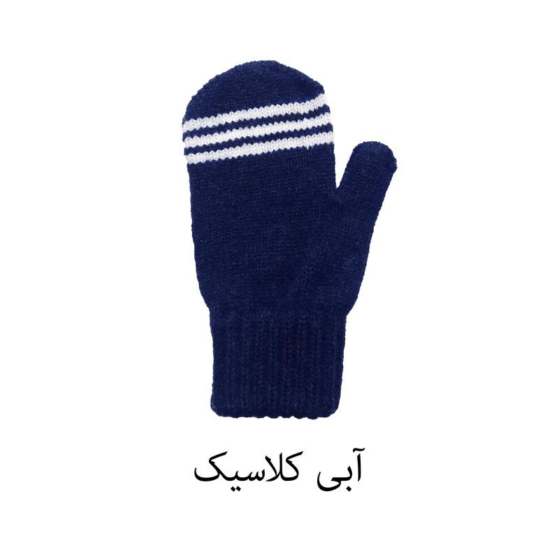 دستکش بافتنی بچگانه مدل 07