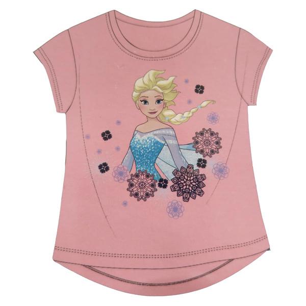 تی شرت دخترانه دیزنی مدل السا